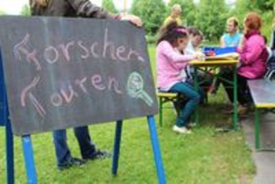 Kinderstadtplanforscher unterwegs in Fürstenried-Forstenried